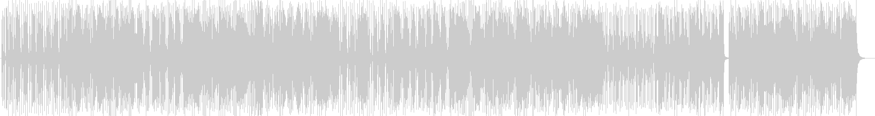 Pop and fancy synthesizer songs's unreproduced waveform