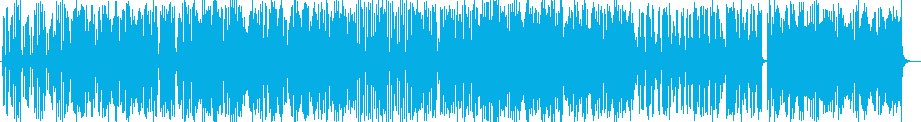 Pop and fancy synthesizer songs's reproduced waveform