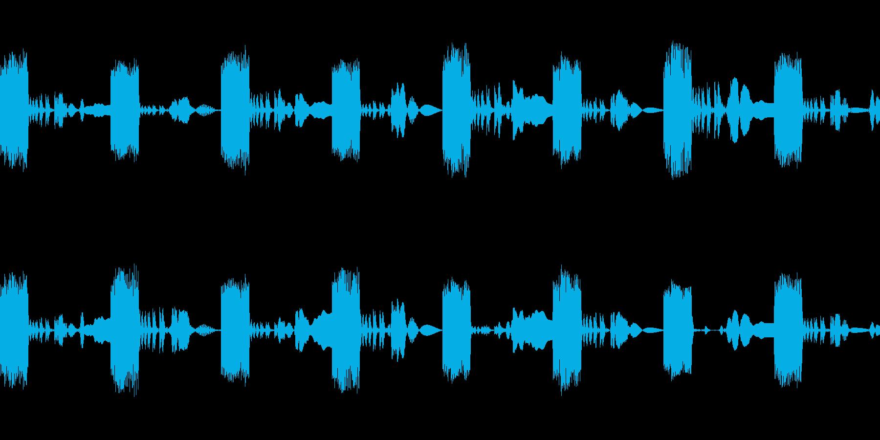 シンセが生成したループ。 Synt...の再生済みの波形