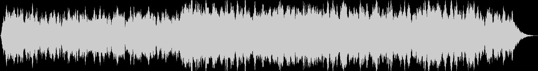 ドローン シンプルドローン01の未再生の波形