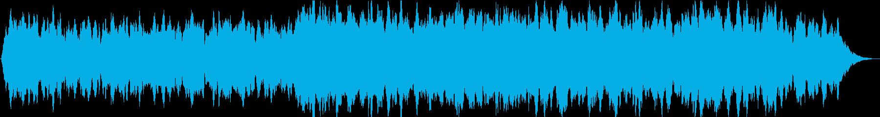 ドローン シンプルドローン01の再生済みの波形