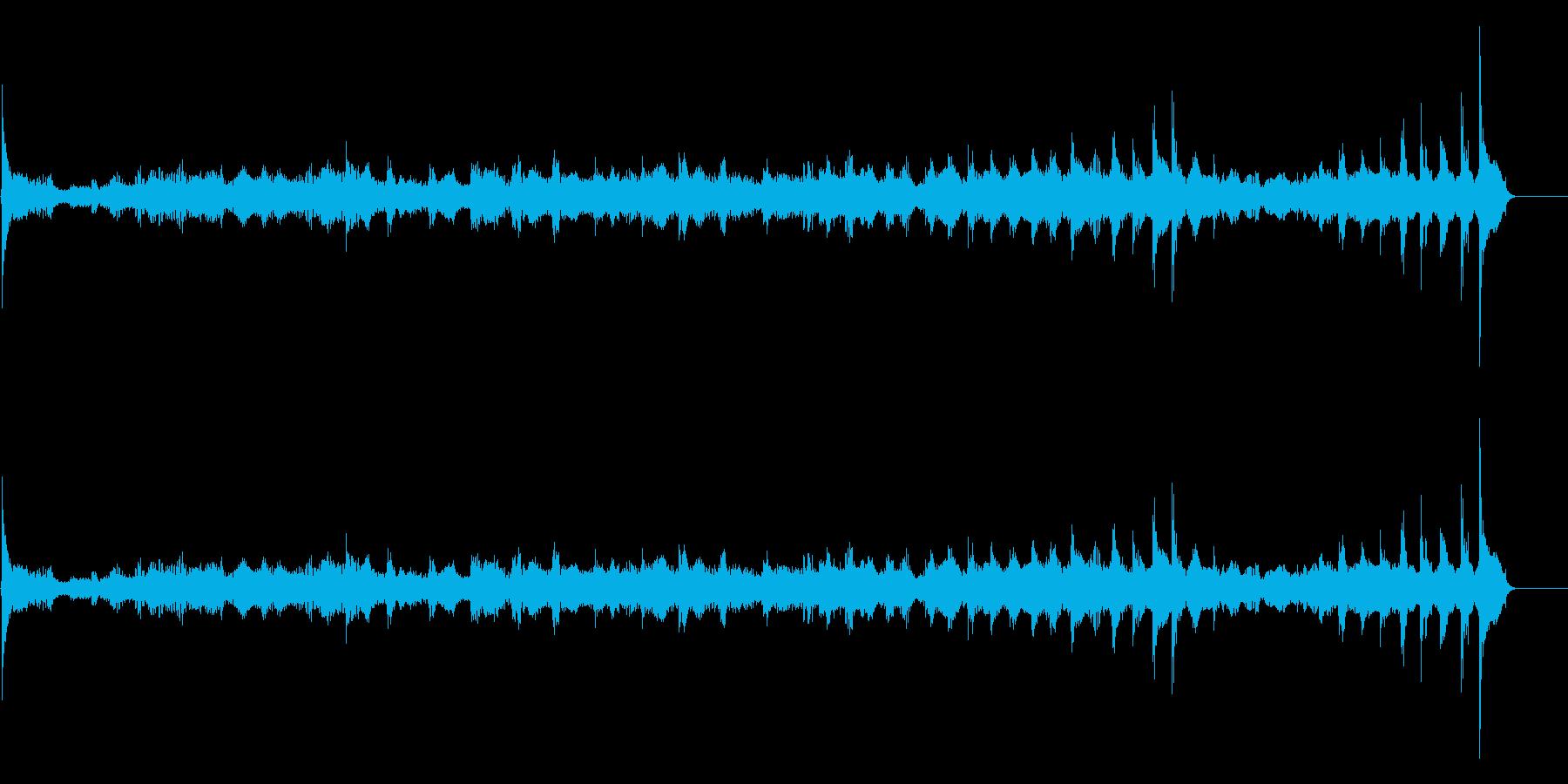生演奏 琵琶 武士 和風 古典風#25の再生済みの波形