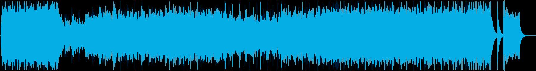 エンディングに合う感動的なオーケストラの再生済みの波形
