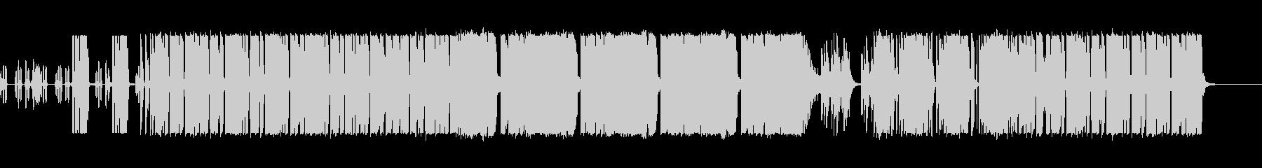 怪しい雰囲気の謎風ダブステップの未再生の波形