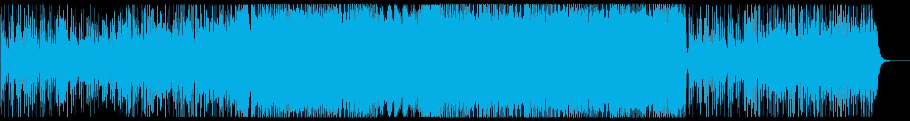 スタイリッシュでおしゃれなメロディーの再生済みの波形