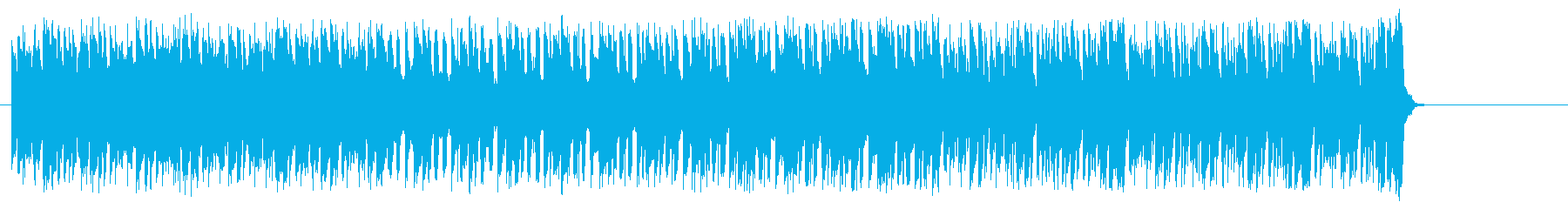 活力溢れるテクノ/ポップの再生済みの波形