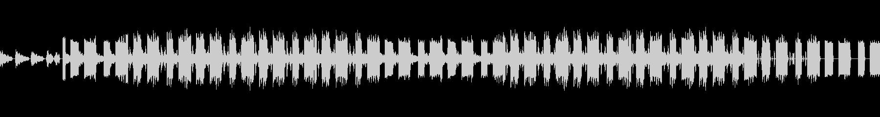 切ない8beatトラックの未再生の波形