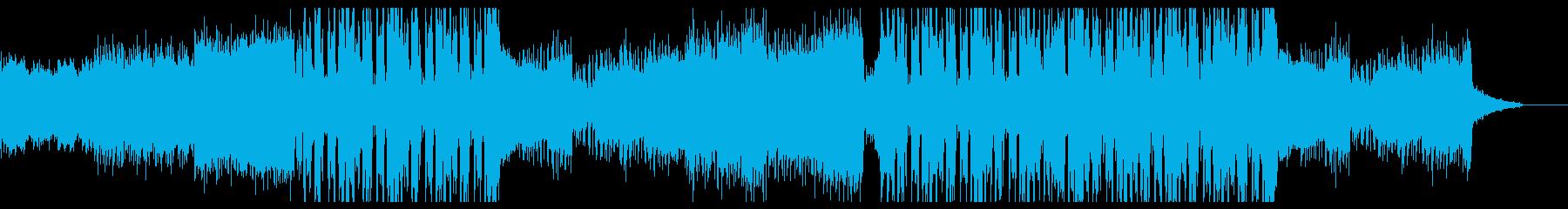 爽快なFutureBassモダンEDM の再生済みの波形