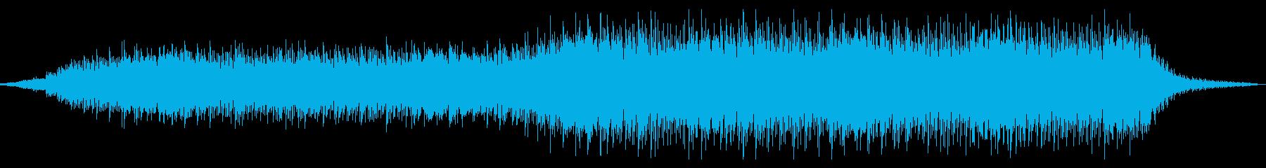 浮遊感溢れるサウンドですの再生済みの波形