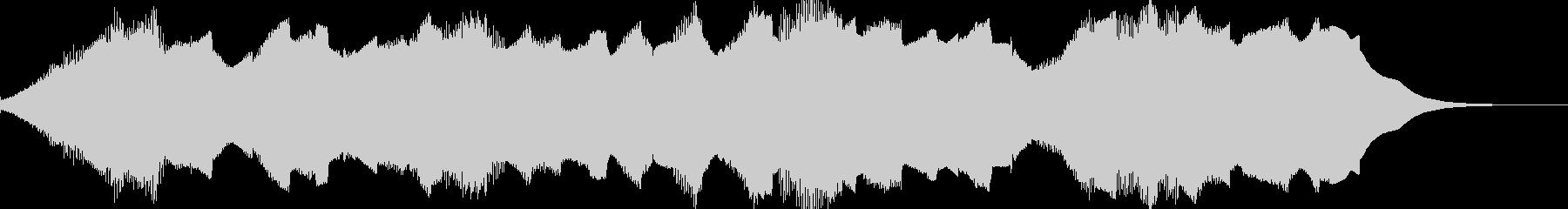 ホラー動画★タイトル/ナレーション用の未再生の波形