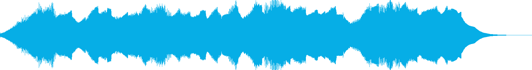 ホラー動画★タイトル/ナレーション用の再生済みの波形
