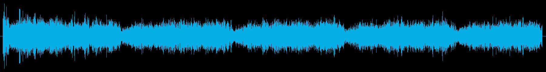パワーコアハムモーターのパワーアップの再生済みの波形