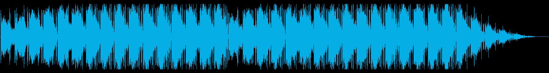 生ぬるく漂うローファイエレクトロニカの再生済みの波形
