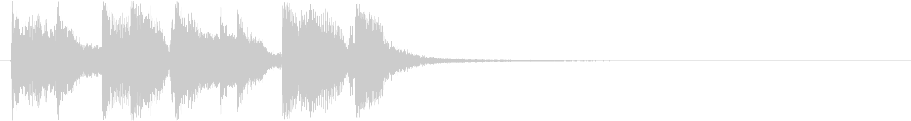 ジャズピアノのアイキャッチの未再生の波形