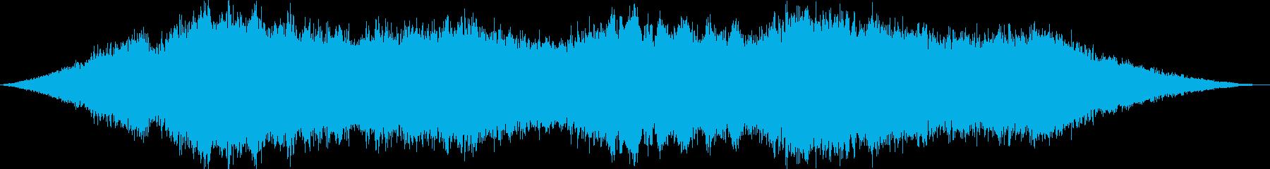 シネマティックドローン 01 アトムの再生済みの波形