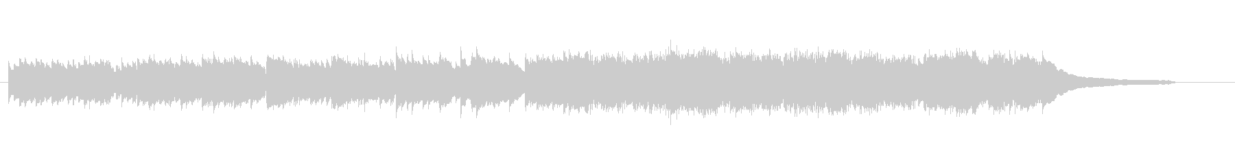 CM30秒/優しく感動的なピアノソロ24の未再生の波形