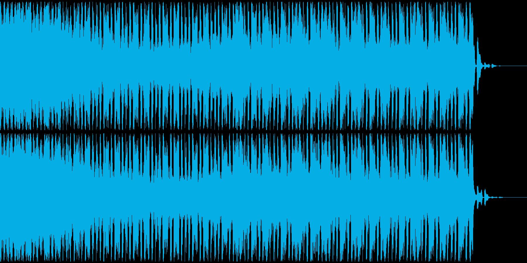 【EDM】トランス、ジングル1の再生済みの波形