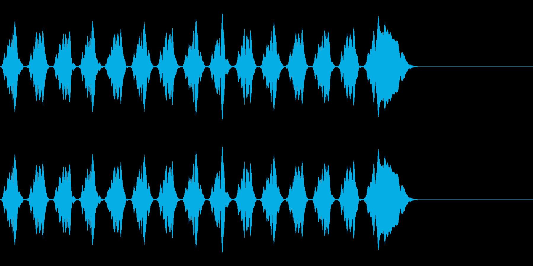 KANTニャ自主規制音4middleの再生済みの波形