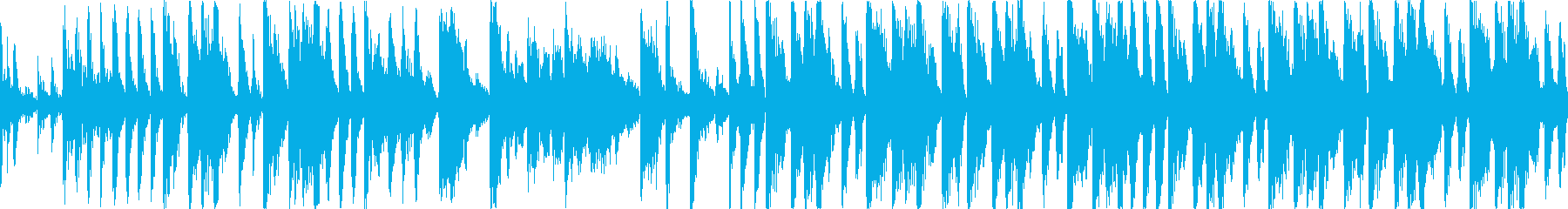 【15秒】ファンキーなブレイクビーツの再生済みの波形