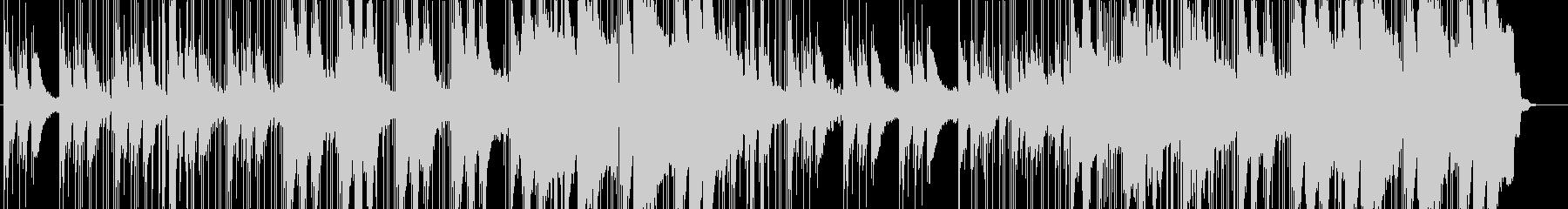 ピアノを使ったヒップホップの未再生の波形