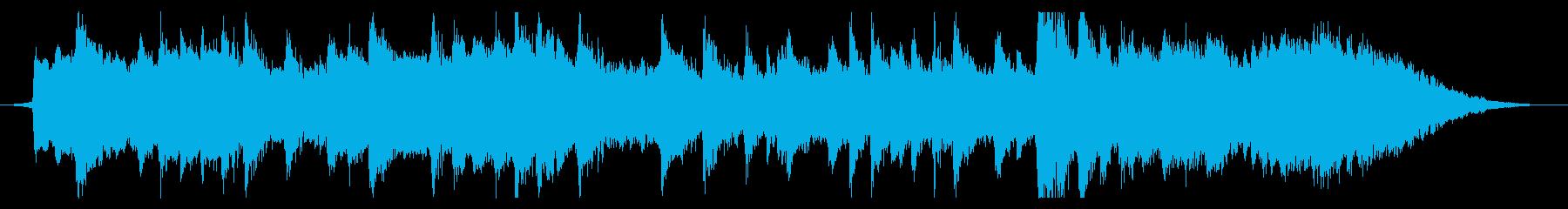 悠久の歴史と伝統を思わせる雅な筝曲30秒の再生済みの波形