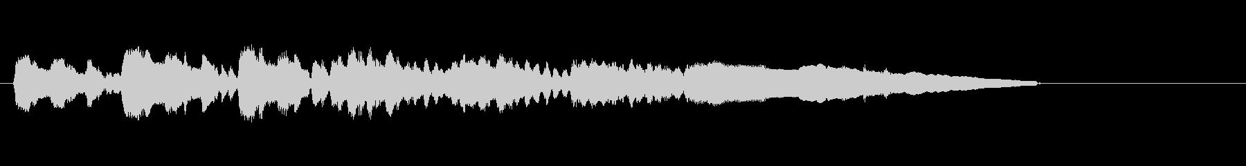 テーマ2:WOODWINDSの未再生の波形