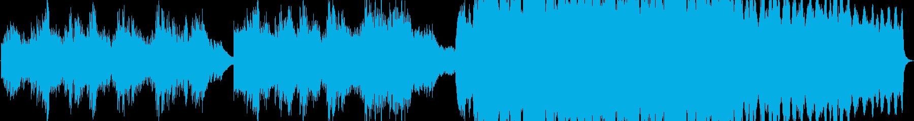 温かみのあるピアノバラード、ストリングスの再生済みの波形