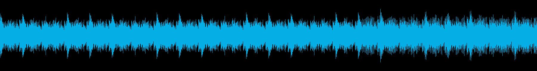 美しく幻想的な深海 大自然 ループ仕様の再生済みの波形