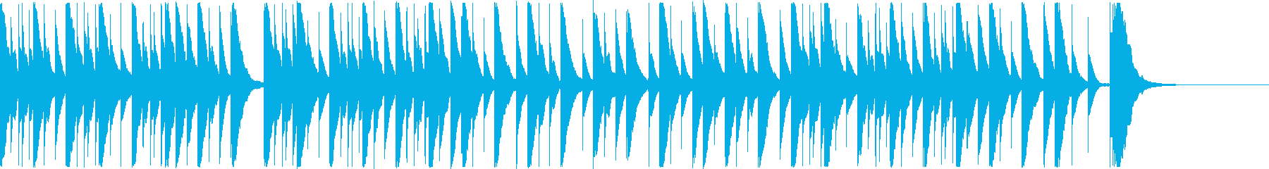定番クリスマスソングをカバー_オルゴールの再生済みの波形