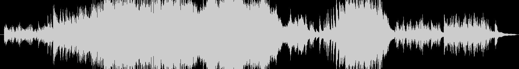 古代風で華麗な曲の未再生の波形