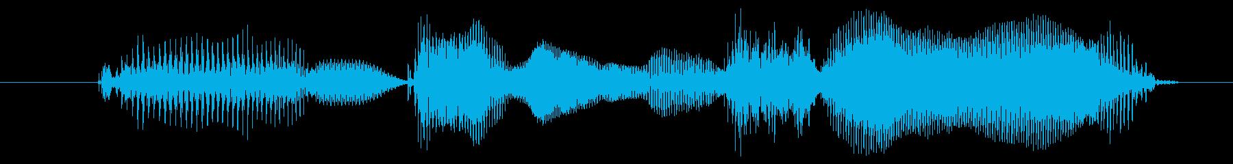 がんばりましょうの再生済みの波形