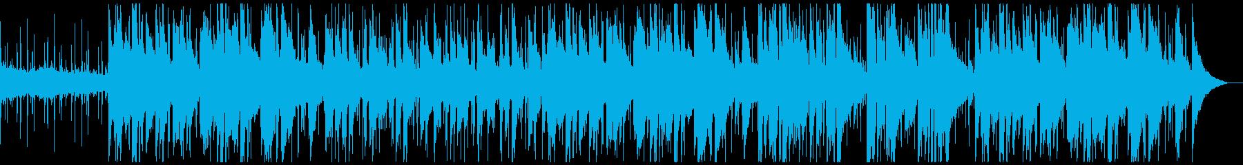 ピアノとアコースティックギターがメ...の再生済みの波形