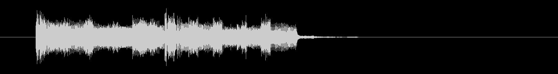 シックでベースが印象的なロックの未再生の波形