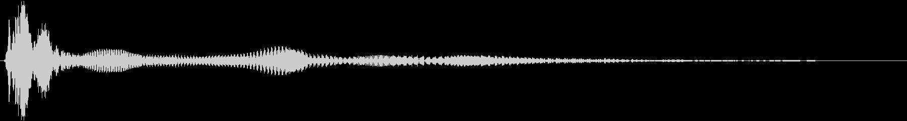 ソフトバウンスボーイングの未再生の波形