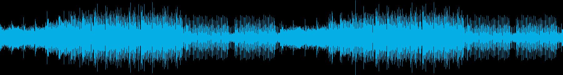 爽やか・明るい・和風・EDM・琴・尺八の再生済みの波形