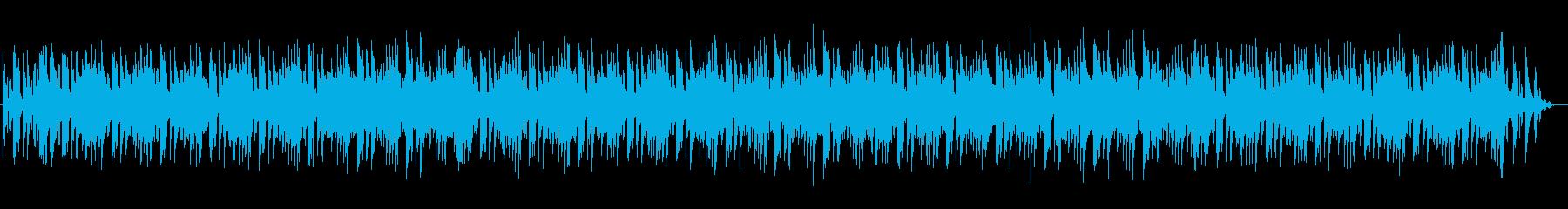三味線や鈴の音がアクセントの和風サウンドの再生済みの波形