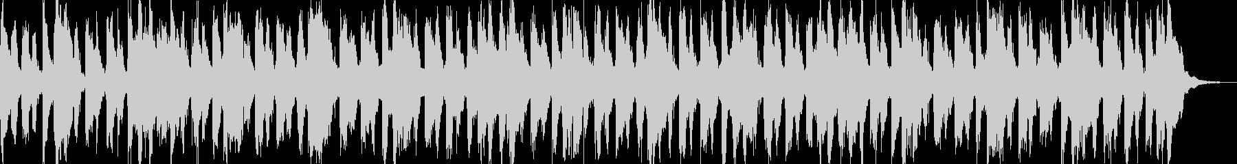 子供用のわんぱくな雰囲気のBGMの未再生の波形