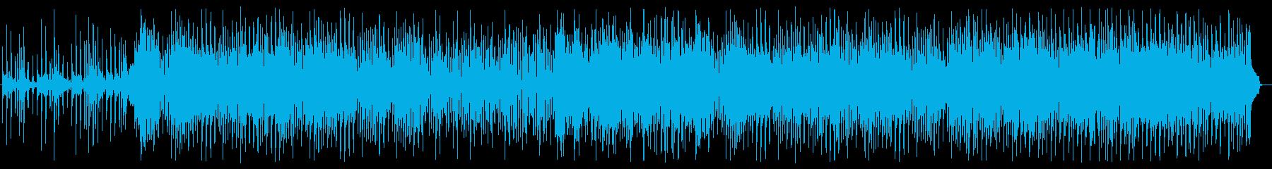 優しく切ないピアノインストBGMの再生済みの波形
