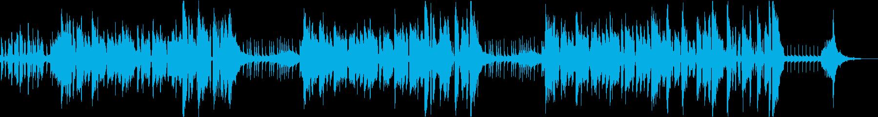 梅雨の食中毒予防をテーマにした楽曲の再生済みの波形