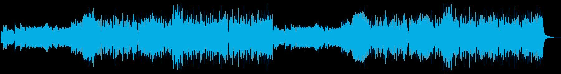 爽やかで軽快なBGMです。の再生済みの波形