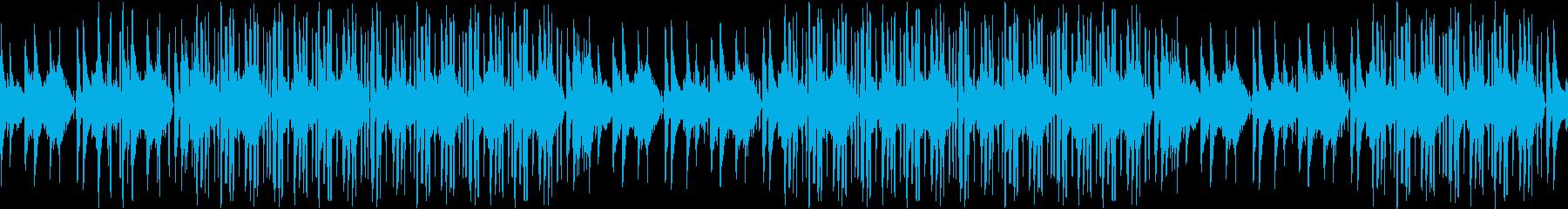 レトロ・お洒落・ピアノ・明るい・ループの再生済みの波形