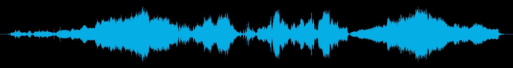 和と洋の音の融合世界の再生済みの波形