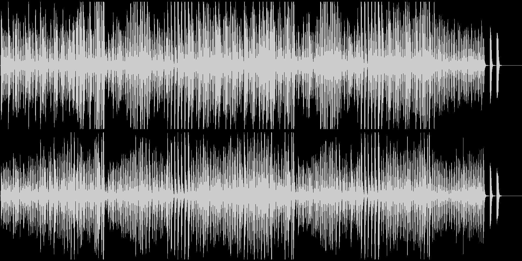 ピアノ名曲トルコ行進曲 意外とかわいい曲の未再生の波形