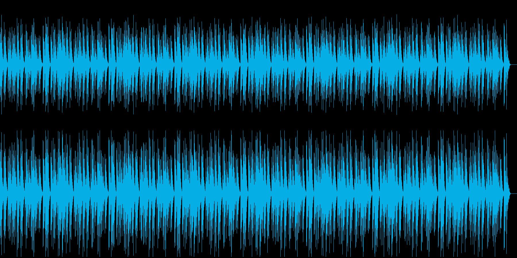 ゆったり静かなかわいいオルゴールの再生済みの波形