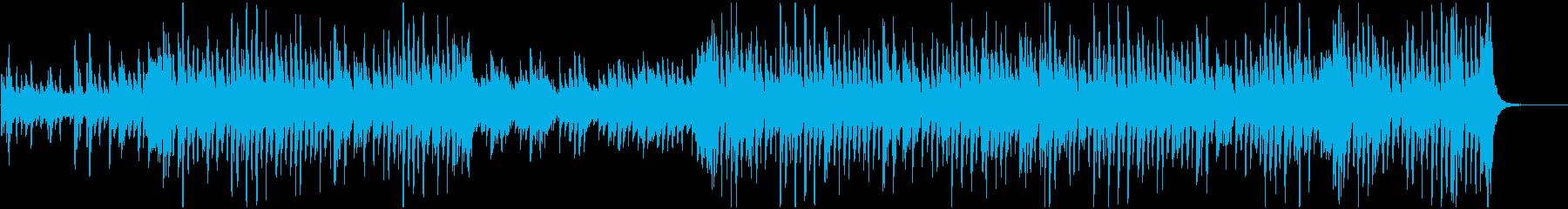 ピアノ、ストリングス、木管楽器、グ...の再生済みの波形
