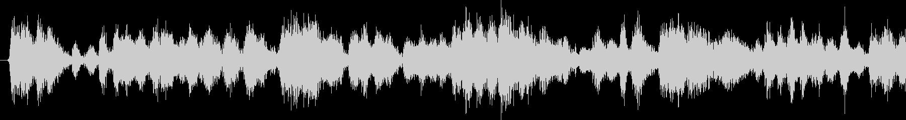 ウッドインパクトループの未再生の波形