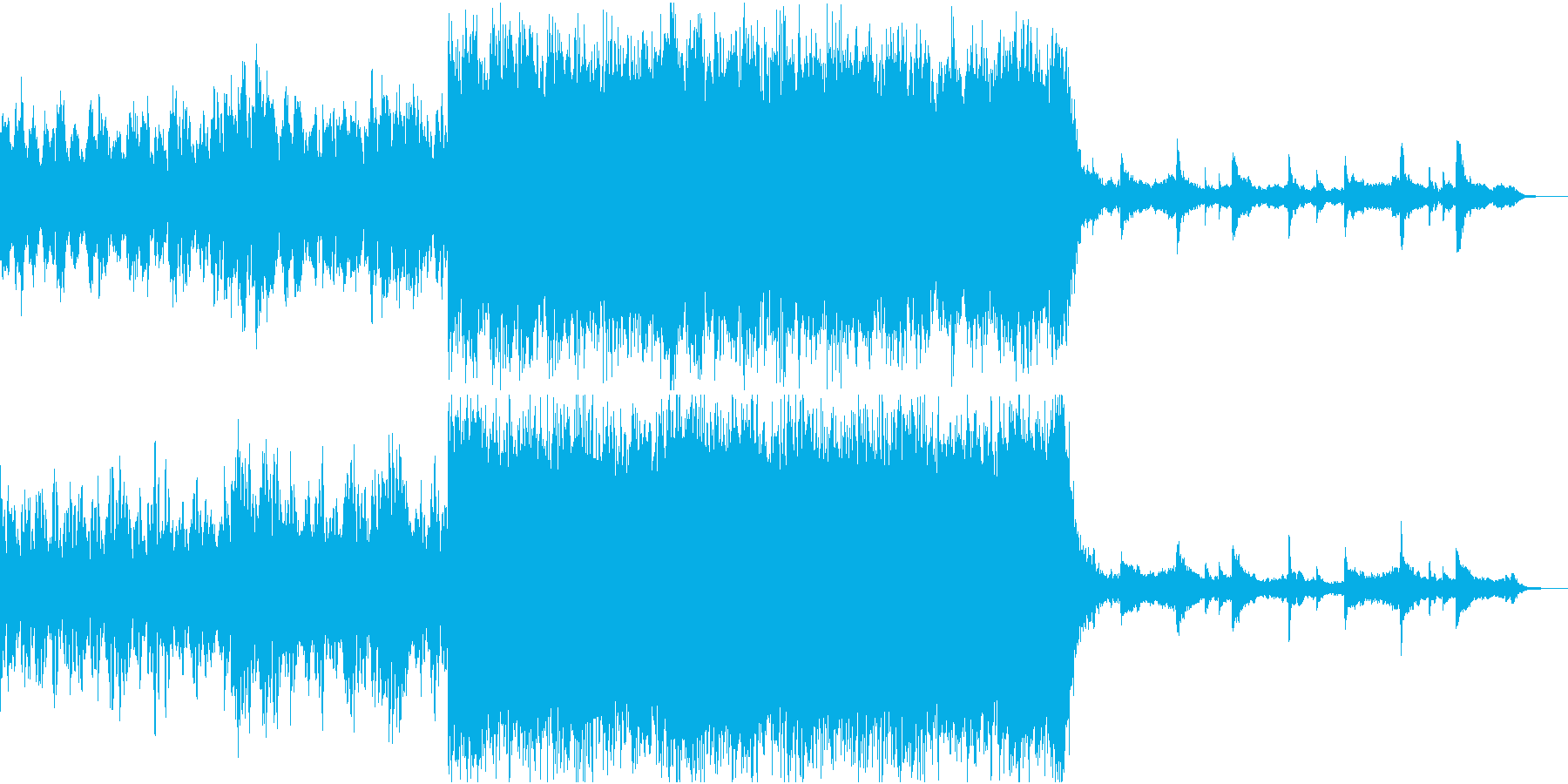 エピックオーケストラ コーラス無しの再生済みの波形