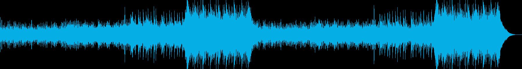 企業VPや映像36、壮大、オーケストラaの再生済みの波形