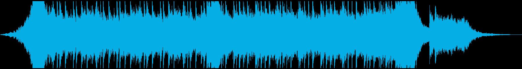 星空をイメージ。スケールの大きなバラードの再生済みの波形