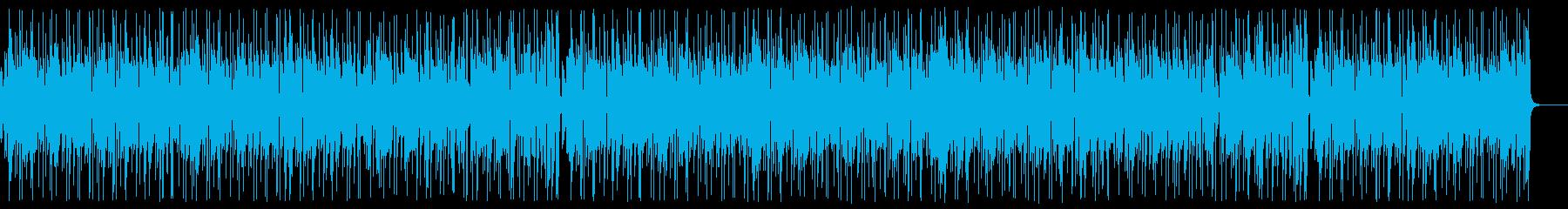 80's style light jazz pop's reproduced waveform